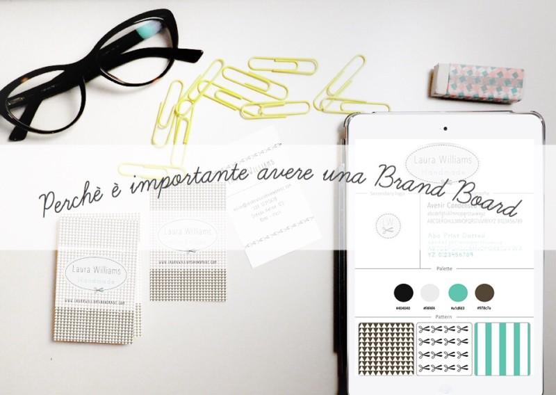 Perché è importante avere una brand board