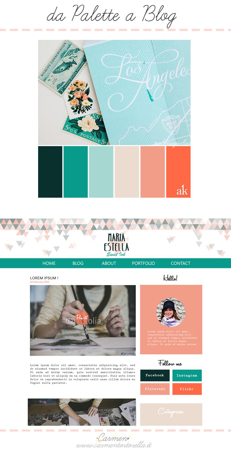 Definisci la palette colori del tuo blog shop