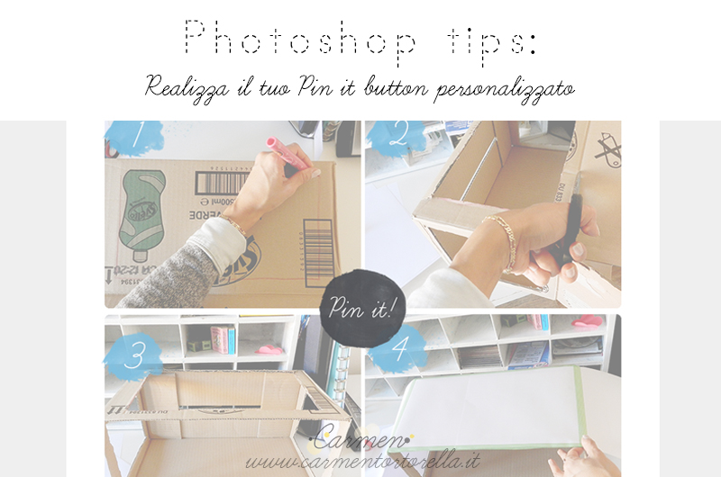 PHOTOSHOP TIPS: REALIZZA IL TUO PIN IT BUTTON PERSONALIZZATO – PARTE 1