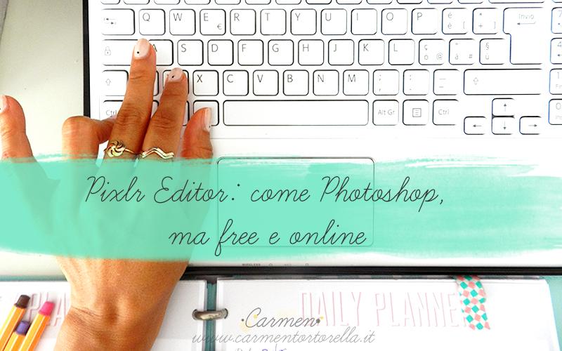 Pixlr Editor: come Photoshop ma free e online