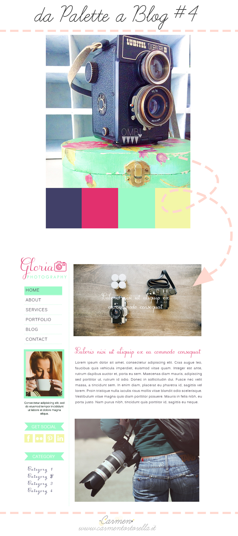 Da Palette a Blog design #4