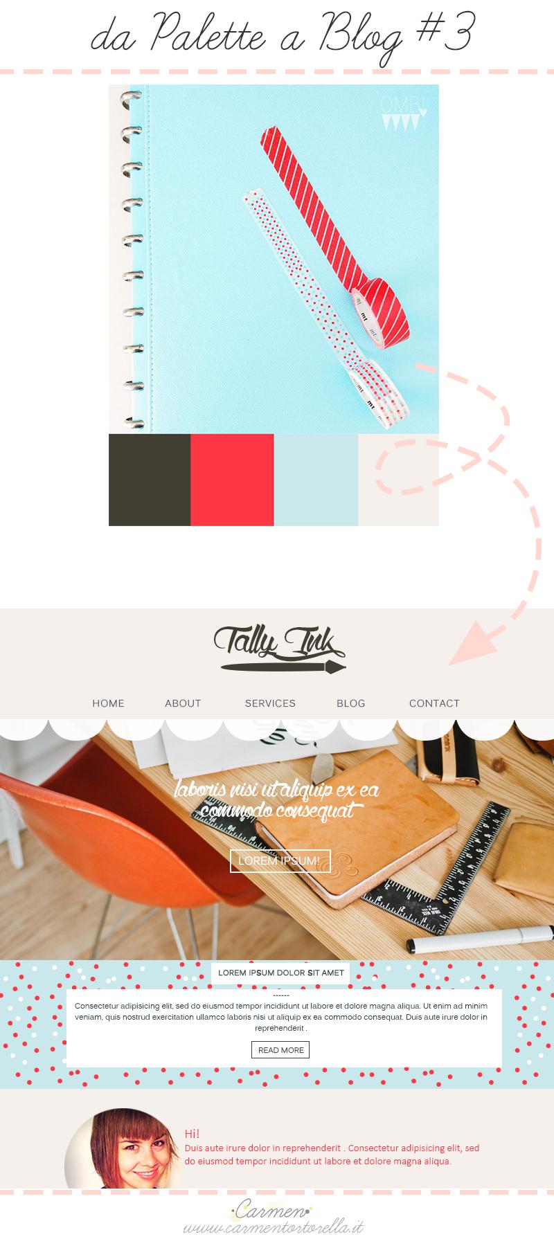 Da Palette a Blog design #2