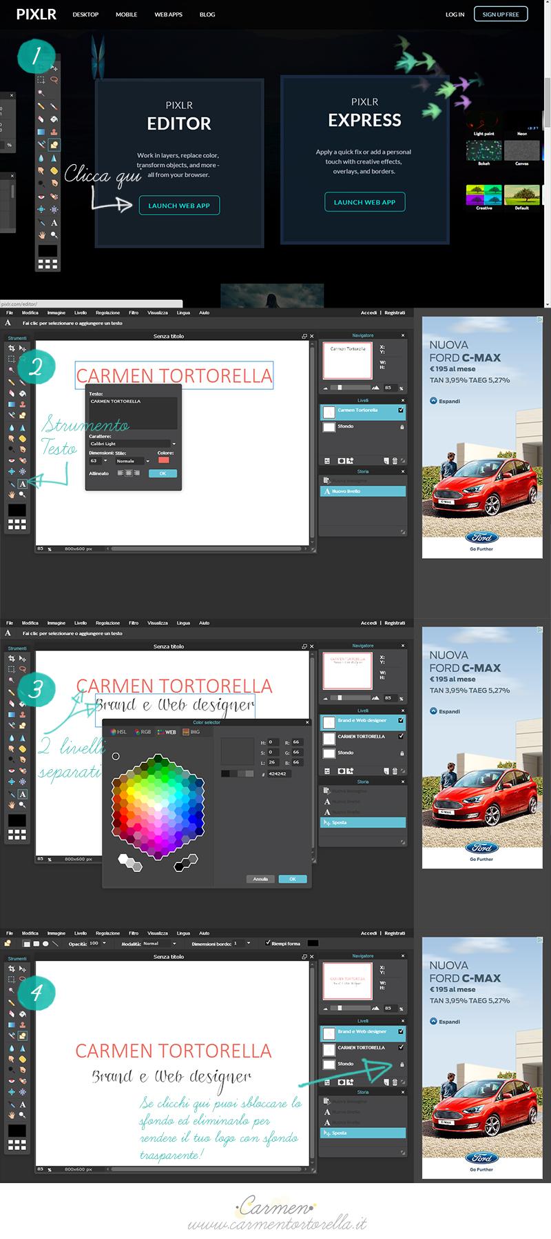 Step Pixlr Editor