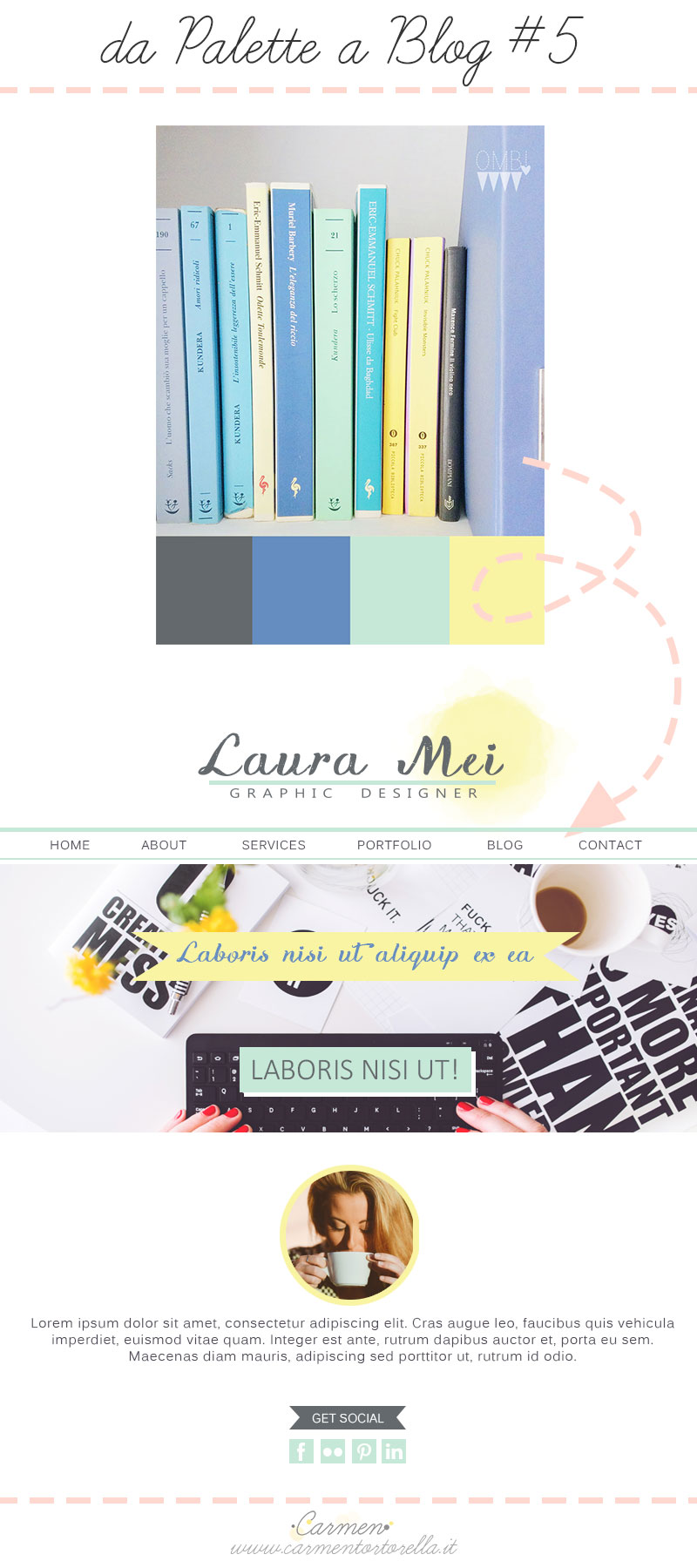 Da Palette a Blog design #5