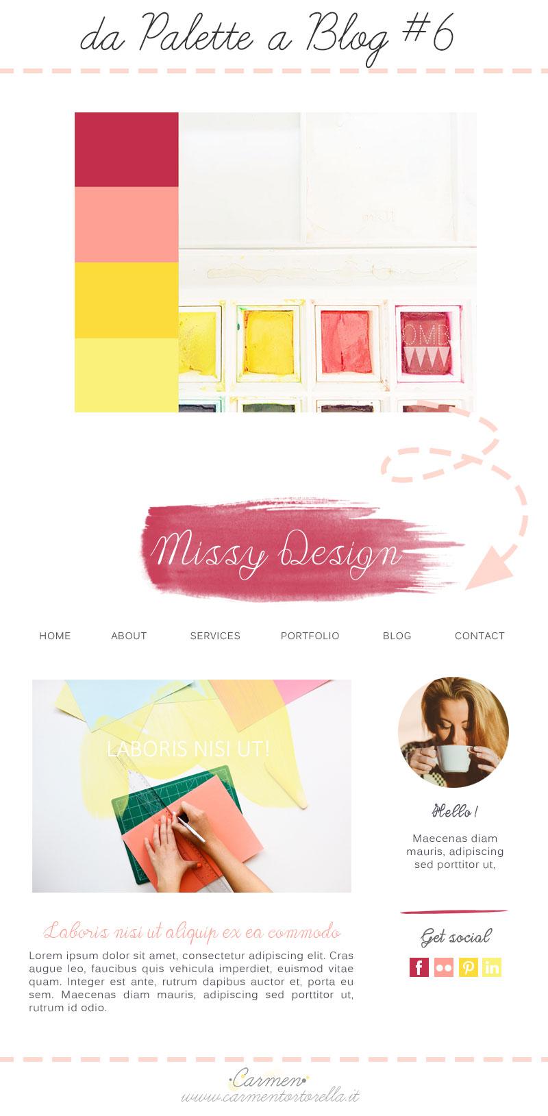 Da Palette a Blog design #5