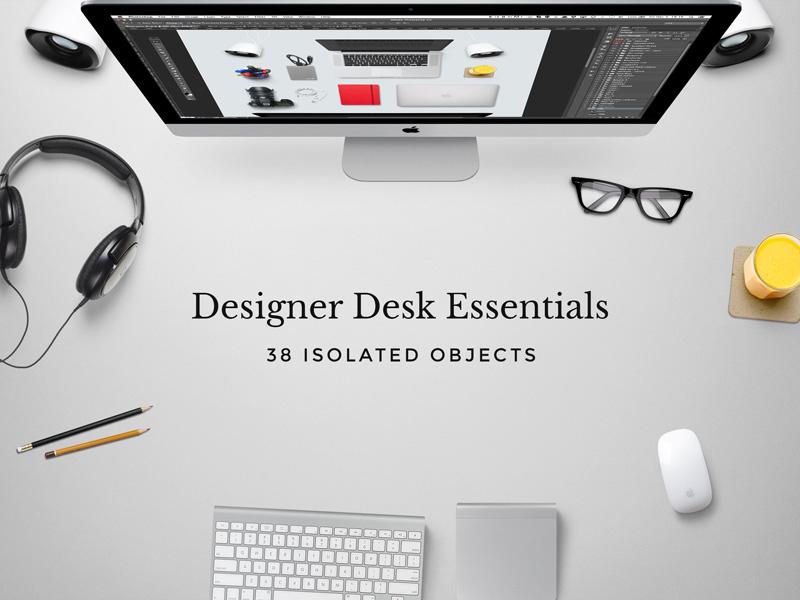 mockup Designer desk