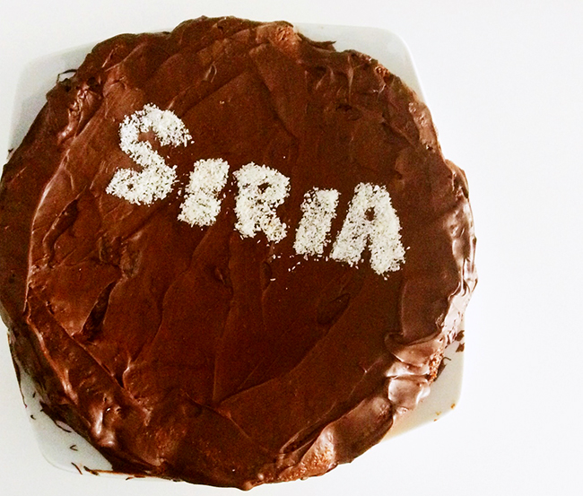 Torta che ho fatto per Siria
