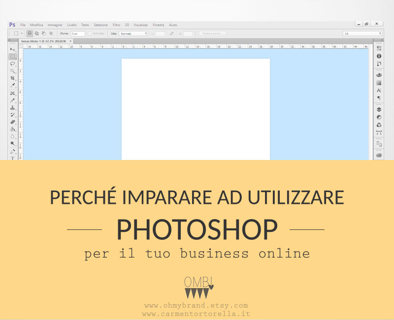 Perché utilizzare Photoshop per il tuo business online
