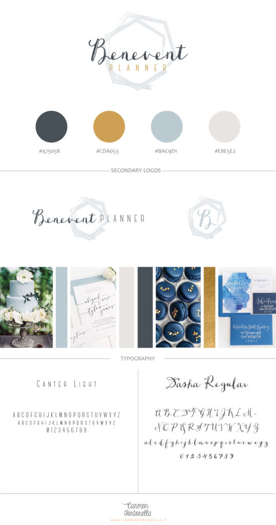 brand board benevent planner