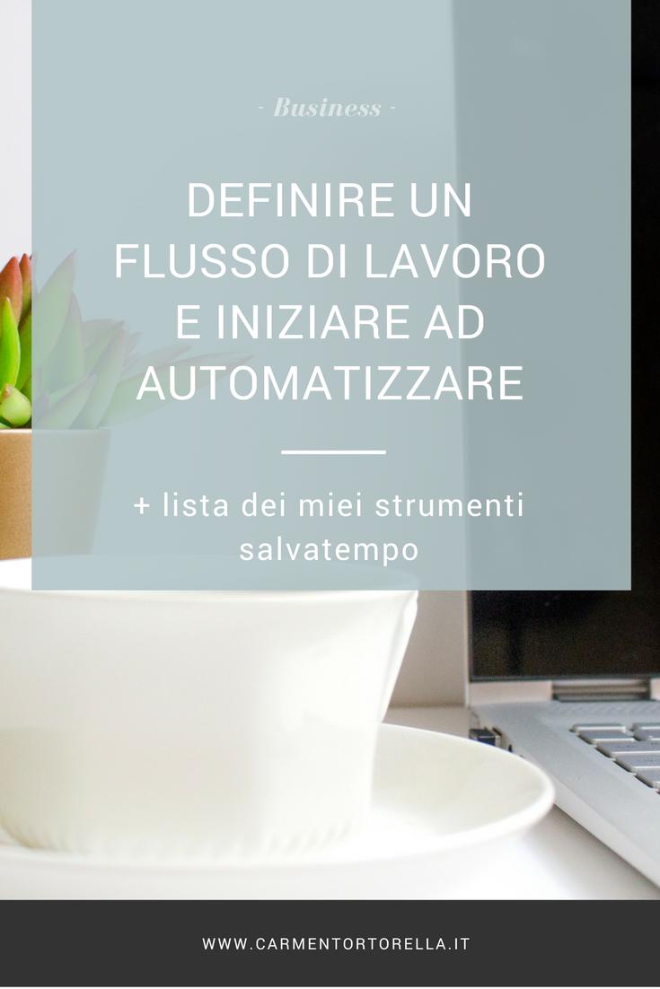 Definire un flusso di lavoro e iniziare ad automatizzare