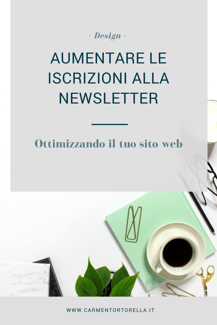 Aumentare le iscrizioni alla newsletter